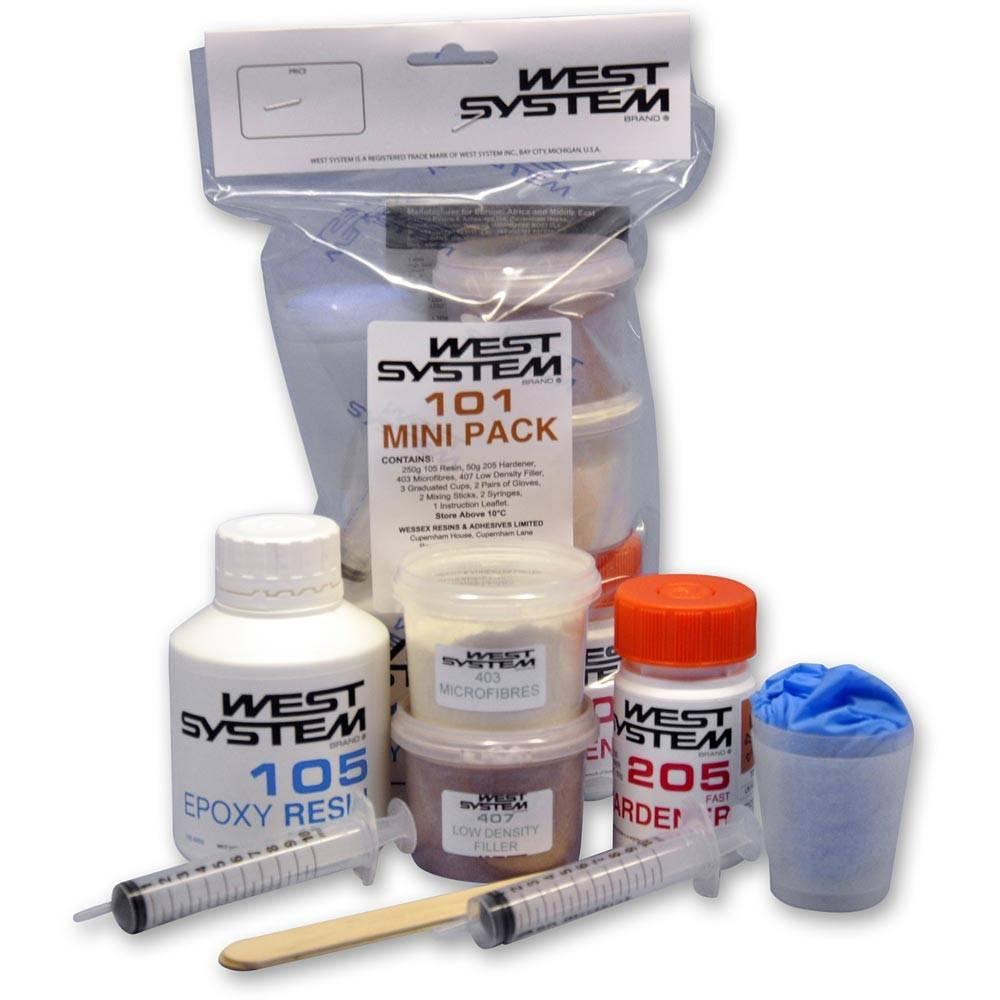 West System 101 Mini Pack Hars, harder en toebehoren
