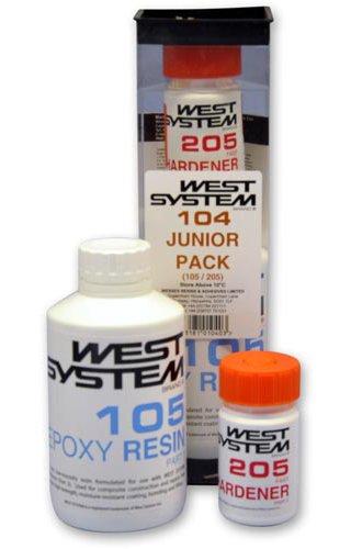 West System 104 Junior Pack Epoxyhars 105 + Harder 205