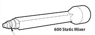 West System 600/610 Zelfmengende kitmond 1/2/20 stuks