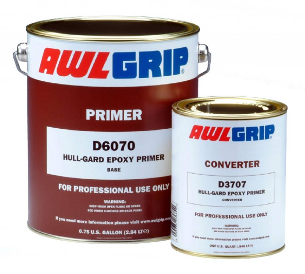 Awlgrip Hullgard epoxy primer set 4 gl D6070 + D3707