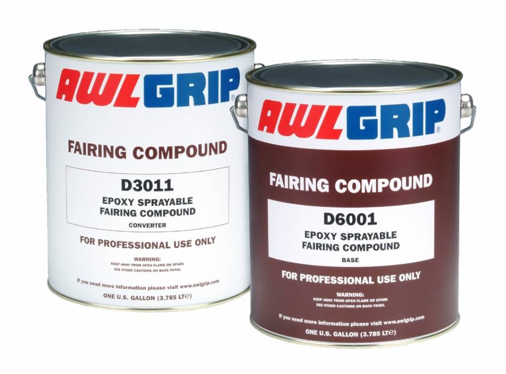 Awlgrip Sprayable fair. comp. Set D6001 + D3011