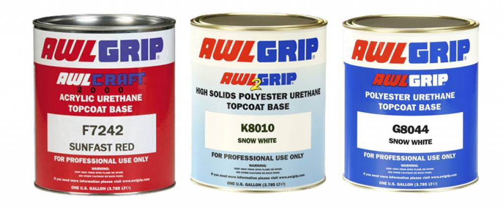 Awlgrip topcoat div. kleuren Grijs
