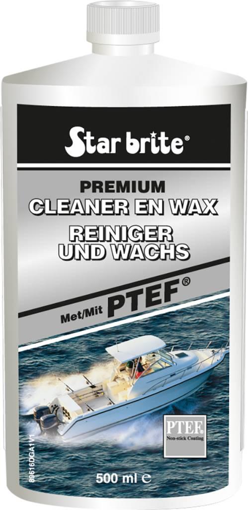 Starbrite CLEANER & WAX MET PTEF® 500ml