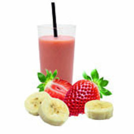 Fresh Fruit Express Verse Smoothies Tropical Smoothie Fruitmix aardbeien - banaan