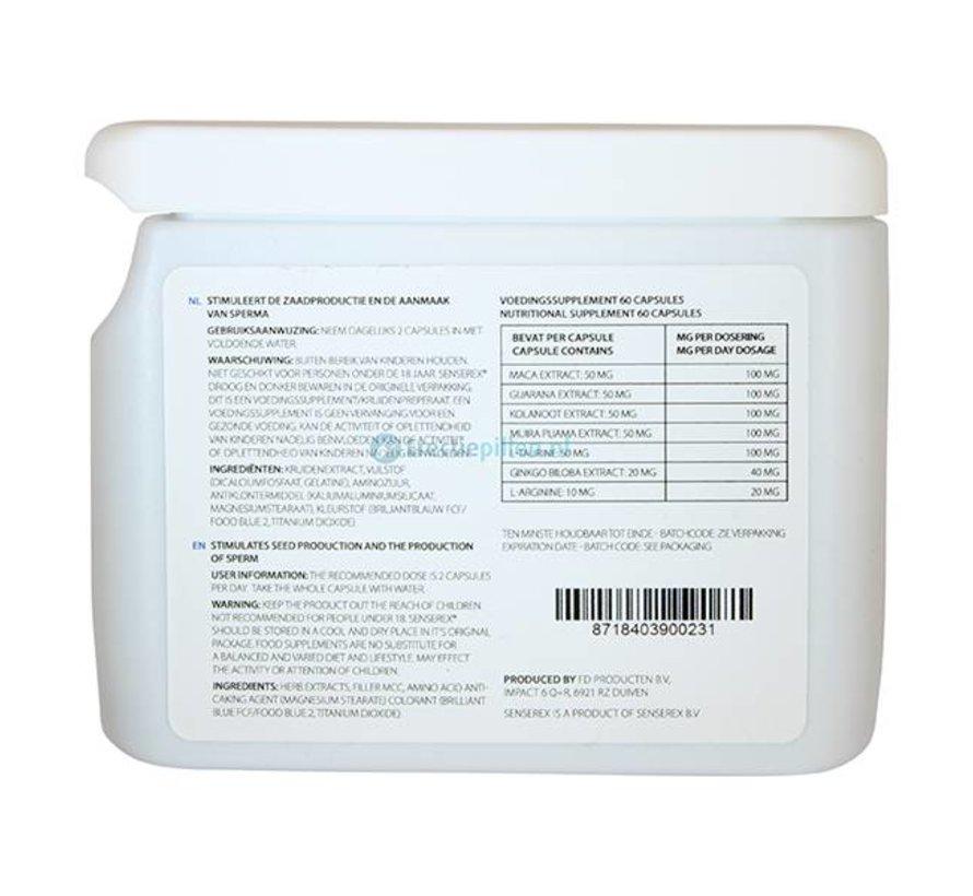 Senserex Sperm Booster 60 capsules