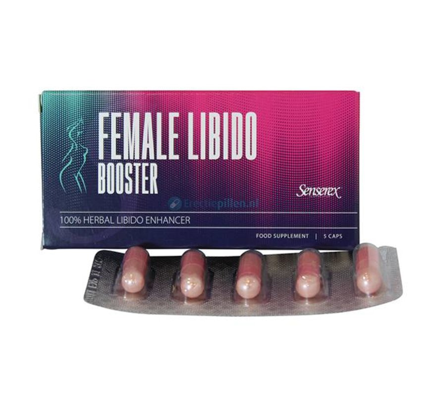 Senserex Female Libido Booster 5 capsules