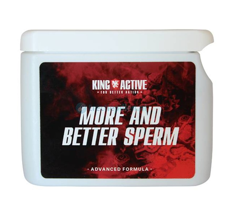 King Active More and Better Sperm 60 capsules