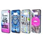 3D Fashion Silicone  Case Galaxy S8