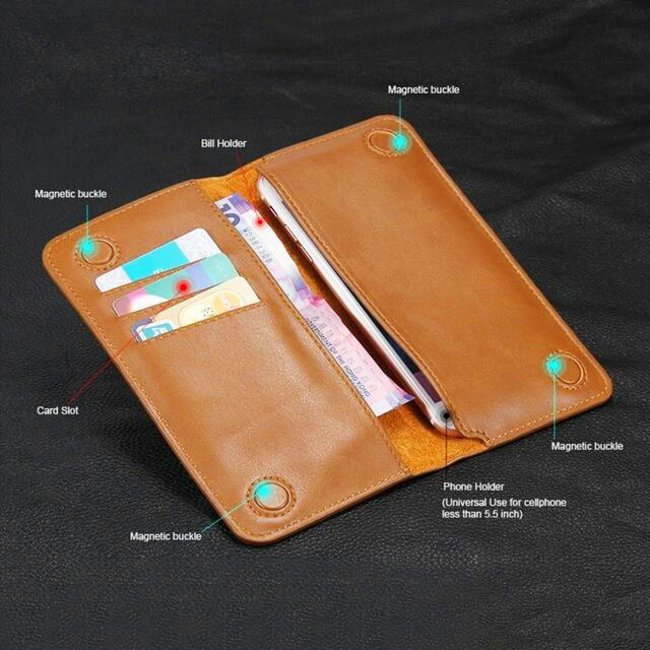 JDK Universal Leather Wallet