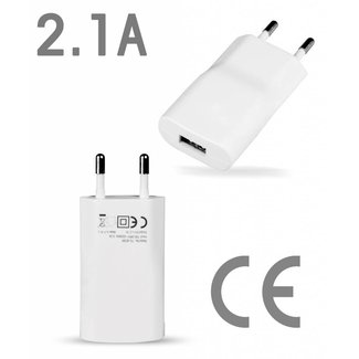 2.1A Premium Home USB Adapter - CE Certified