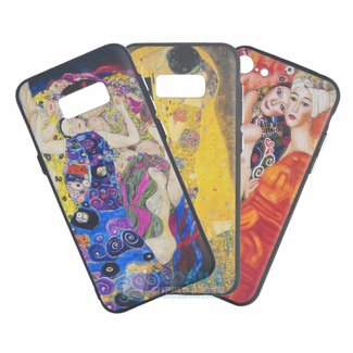 Gustav Klimt Silicone Achterkant hoesje iPhone 7/8/SE (2020)
