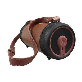 Lesenz LeSenz BlueSenz Hype - Leren Bluetooth Speaker