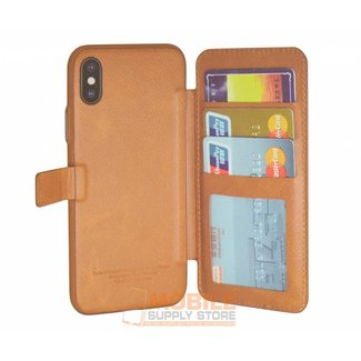 Puloka Backside pass holder Case for IPhone X