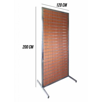 Double Side Standing Slatwall (200cm x 120xm)