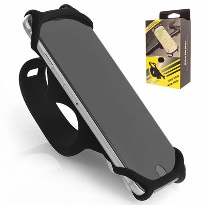 Durable Non-Slip Silicone Phone Mount for Bike and Bicycle