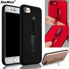 Lazy Finger Ring + Kickstand Matte TPU Hard Case IPhone 6/6S