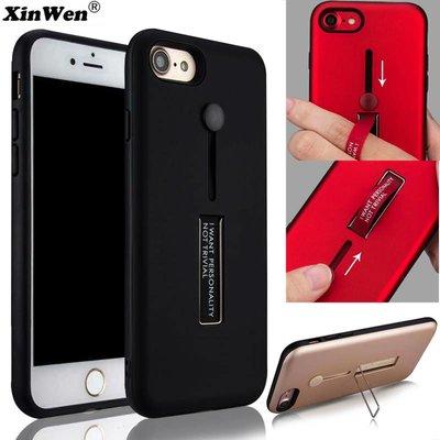 Lazy Finger Ring + Kickstand Matte TPU Hard Case Galaxy S9