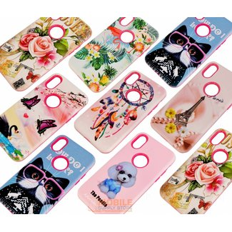 3D Silicone Back Cover Case for Iphone 6 / 6S