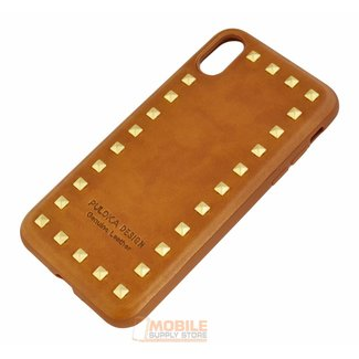 Puloka Spikes Leather Back Cover for Iphone 7/8 / SE (2020)