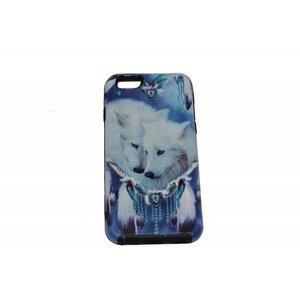 Robust Wolves Print Case Hard Back Cover