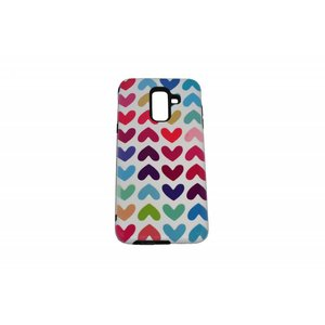 Hearts Print Case Hard Back Cover