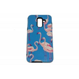 Flamingo's Print Hard Achterkanthoesje