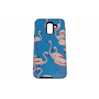 Flamingos Print Hard Back cover