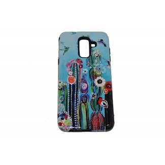 Colorful Cactus Print Hard Back Cover