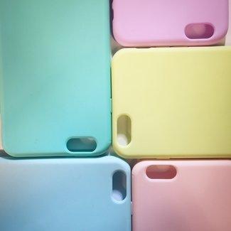 Candy Color Matt Silikon Rückseite Galaxy S7 Edge
