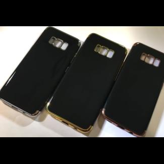 Deluxe Black Silicone Case S8 Plus