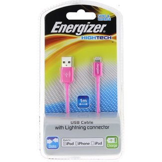 """Energizer USB """"Hightech"""" cable charge + data For iphone"""