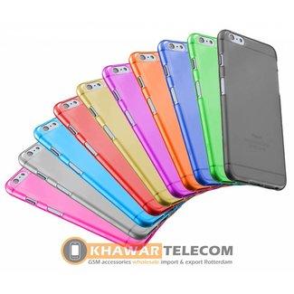 10x transparente bunte Silikonhülle Galaxy S6