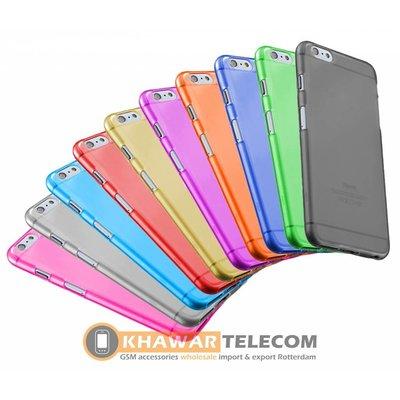 Custodia in silicone trasparente 10x colore iPhone 6G