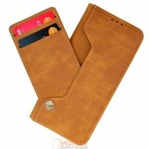 High Class  Universeel Wallet Boek Hoesje maat S