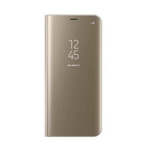 Klare Sicht auf das Smart Book Case Galaxy S6 Edge