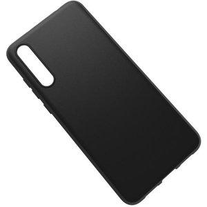 Huawei Xperia XA için Premium Mat Siyah Silikon Kılıf