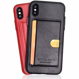 Puloka Puloka Apple iPhone X / XS OEM Leather Back cover