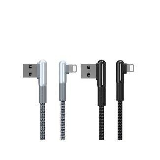 Remax Remax USB Lightning  Data Cabel Black 1m IPhone & IPad