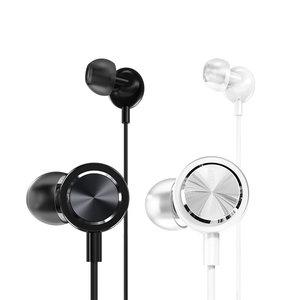 PRODA PRODA E-700 Yage  in-ear wired earphone White 1m