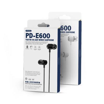PRODA PRODA in-ear wired earphones PD-E600