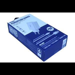 PRODA PRODA Fast Charging  adapter 2 USB 2.4A + Lighting Cable