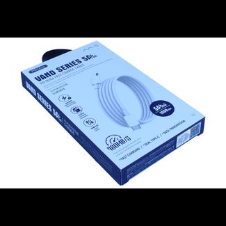 PRODA PRODA USB Typ C 5A Schnellladekabel Weiß 1 m Typ C bis Typ C.