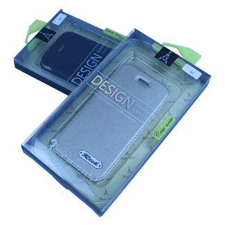 Deluxe Plating Silicone book case iPhone 5G