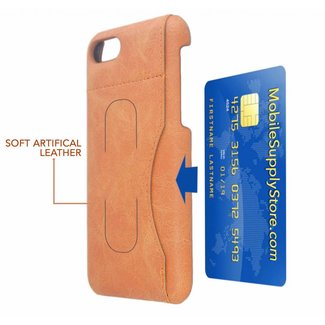 Fashion Card Click Stand Back Cover Case for iPhone SE (2020) / (7 / 8G)