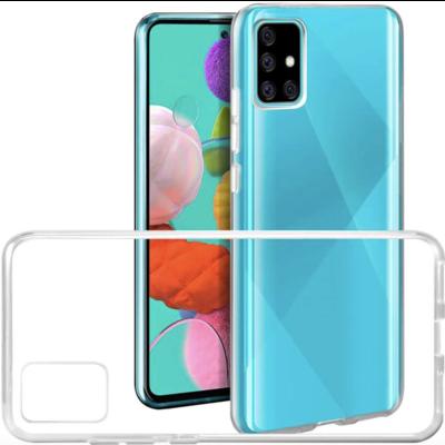 Transparent Silicone Case Galaxy A81