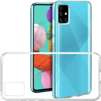 Transparent Silicone Case Galaxy A91