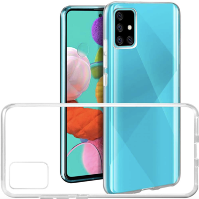 Transparent Silicone Case Galaxy A91