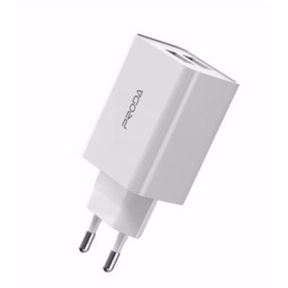 PRODA PRODA Charging adapter 2 USB 2.4A White - PD-A28