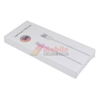 3 Meter iPhone kompatibel mit USB-Kabel