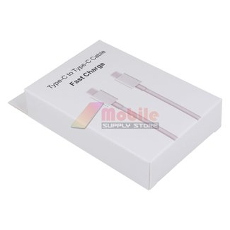 Type-C to Type-C cable - Retail Box